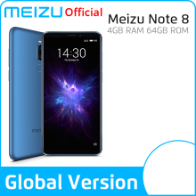 Meizu Note 8 4GB 64GB Global Version Mobile Phone Snapdragon 632 Octa Core Note8 Smartphone Full Metal Body Dual Rear Camera
