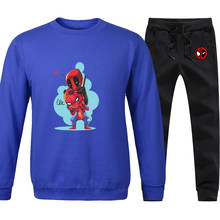 Mens Spiderman Hoodies 2020 Fashion Autunm Sweatshirts Hip Hop Leisure Pullovers Spring Round Neck Clothing Hip Hop Tracksuits(China)
