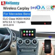 Беспроводной смарт экран carplay для mercedes clc 200 w203 w253