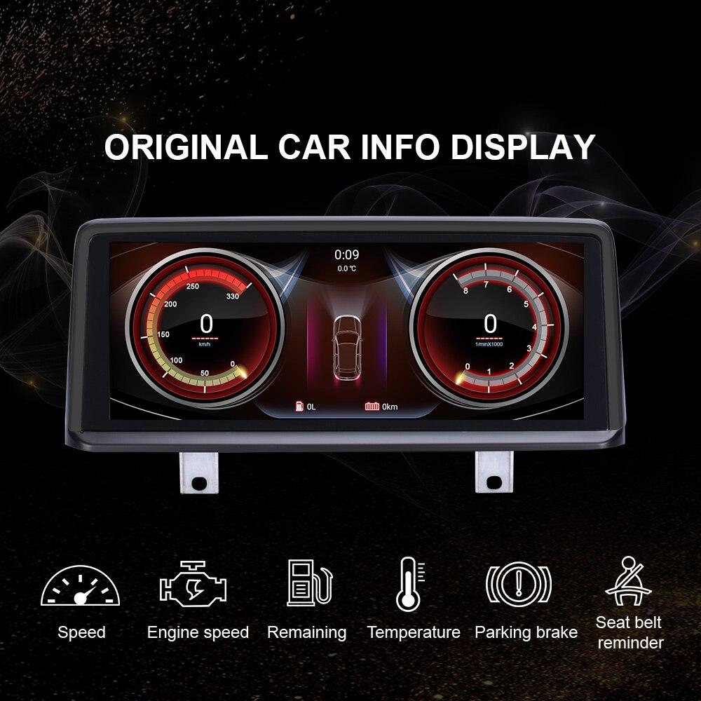 EBILAEN samochodu Multimedia radiowe dla BMW F30 F31 F36 F34 F32 F33 F20 F21 NBT jednostki systemowej PC Android 10.0 Radio samochodowe nawigacja GPS