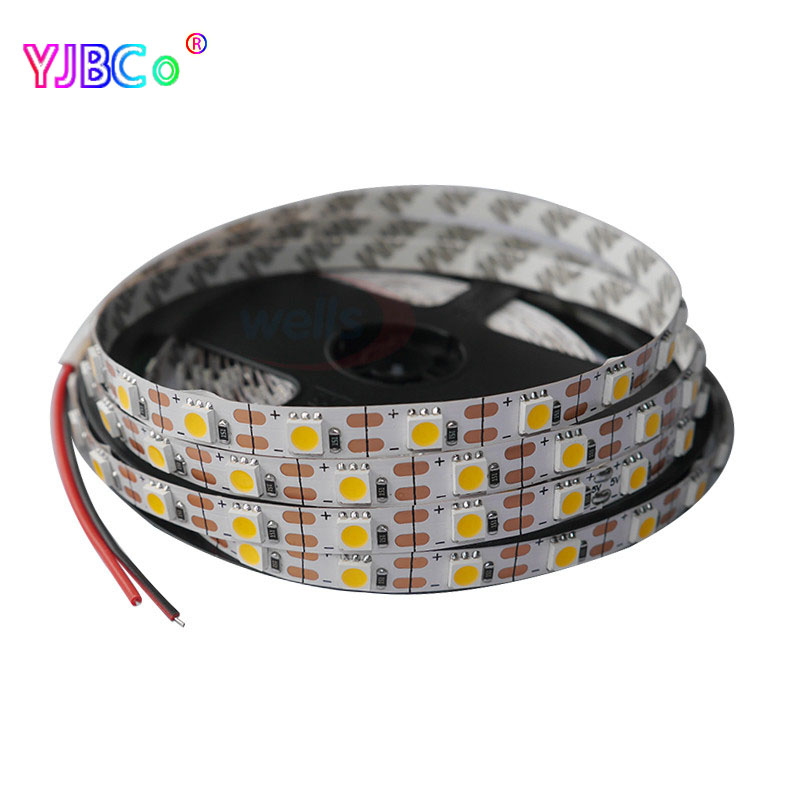 DC5V 1M 2M 3M 4M 5M LED Strip Light 5050 3528 SMD Flexible Lighting Strip Non Waterproof  Christmas Desk Decor Lamp Tape
