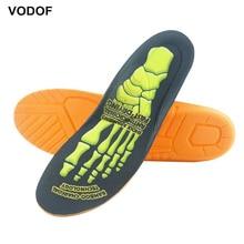 VODOF Orthopedic insoles for shoes plantillas para los pies wkladki do butow de gel sili erkek ayakkabi 2020 1Pair