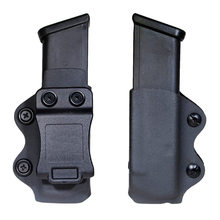 Iwb/Owb Gun Holster Single Magazine Case Mag Pouch Past Glock 17 19 26/23/27/31/32/33 Enkele Iwb Magazine Pouch(China)