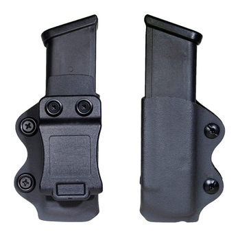 IWB/OWB Gun Holster Single Magazine Case Mag Pouch Fits Glock 17 19 26/23/27/31/32/33 M9 G2C P226 USP IWB - discount item  49% OFF Hunting
