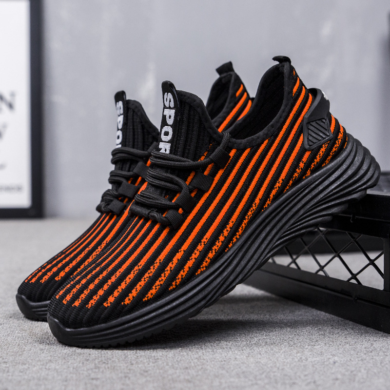 2020 men lightweight blade running shoes shockproof lack up breathable male sneakers height increase walking Gym shoes man