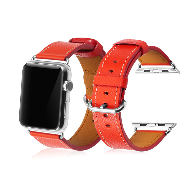iStrap Genuine Leather Vintage Loop Strap for Apple Watch Band Iwatch 3/2/1  Replacement Bracelet | Watchbands