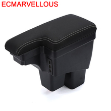 Accessories Car-styling Car Arm Rest Decorative Accessory Styling Automovil Interior Armrest Box 16 17 18 FOR Honda Fit