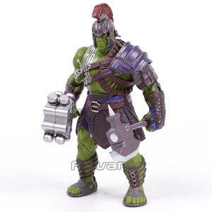 Image 5 - Thor 3 ראגנארוק האלק רוברט ברוס באנר PVC פעולה איור אסיפה דגם צעצוע