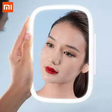 Xiaomi Baseus 8.3 Inch Car Sun Shade Makeup Mirror Cosmetics Sun Shading Mirrors With Rechargeable LED Light цена 2017