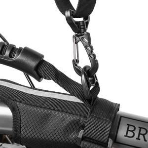 Image 3 - ROCKBROS 접는 자전거 자전거 프레임 캐리 숄더 스트랩 자전거 자전거 캐리어 손잡이 Brompton 자전거 액세서리