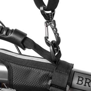 Image 3 - ROCKBROS Folding Cycling Bike Frame Carry Shoulder Strap Bike Bicycle Carrier Handle Hand Grips For Brompton Bicycle Accessories