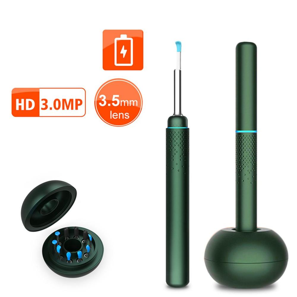 New USB Multifunctional Ear Cleaning Tool HD Visual Ear Spoon With 3MP Mini Camera Ear Pencil In Ear Cleaning Endoscope