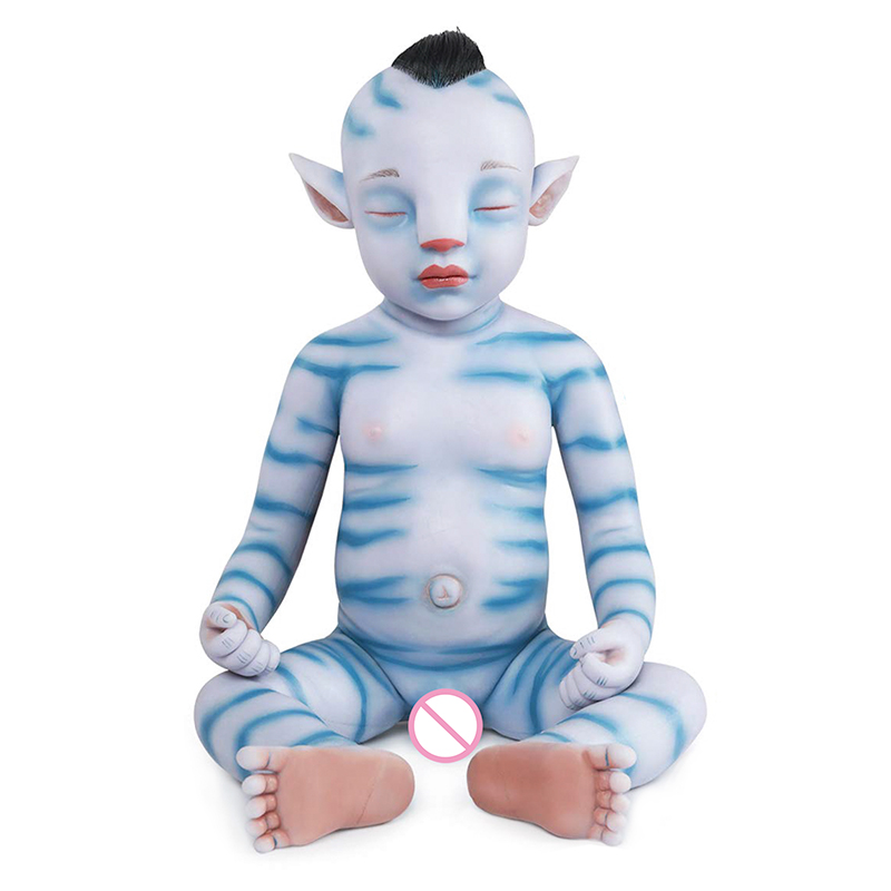 IVITA WB1806RH 51cm 2900g Sleeping Reborn Baby Dolls Lifelike Full Body Soft Silicone Boy Alive Boneca Film Toys For Children