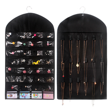 32 Grids Hanging Organizers Ornaments Jewelry Wall Storage Bag Non-Woven Fabrics Home Supplies
