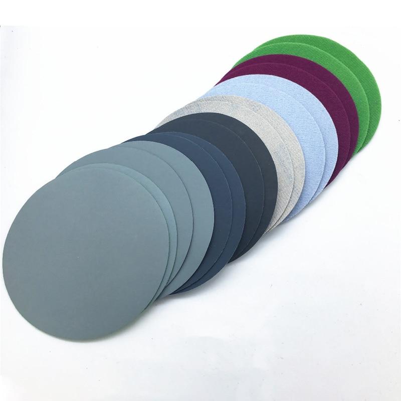 20Pcs 75mm 800//1500/2000/3000 Grit Polishing Pad Water Dry Sanding Discs Sheet Sandpaper Abrasive Papers