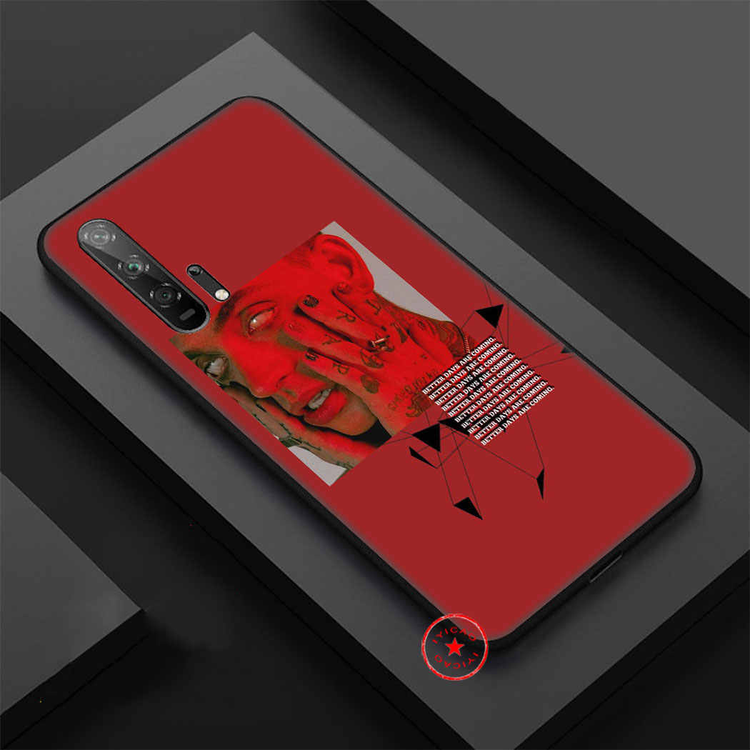 IYICAO Blackbear Silicone Soft Case for Honor View 20 8C 8X 8 9 10 Lite 6A 7C 7X 7A 9X 20 Pro Note 10 Case