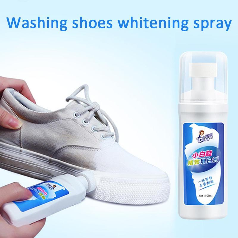 1pc White Shoes Cleaner Whiten Refreshed Polish Cleaning Tool For Casual Leather Shoe Sneakers TB Shoe Brushes