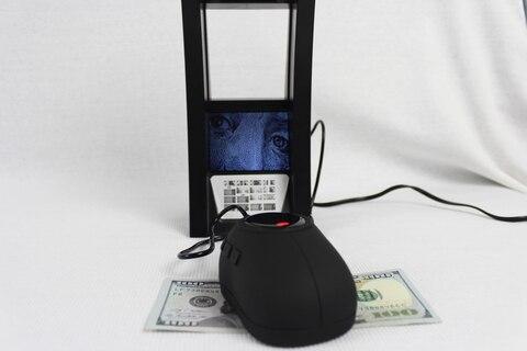 contador de dinheiro detector
