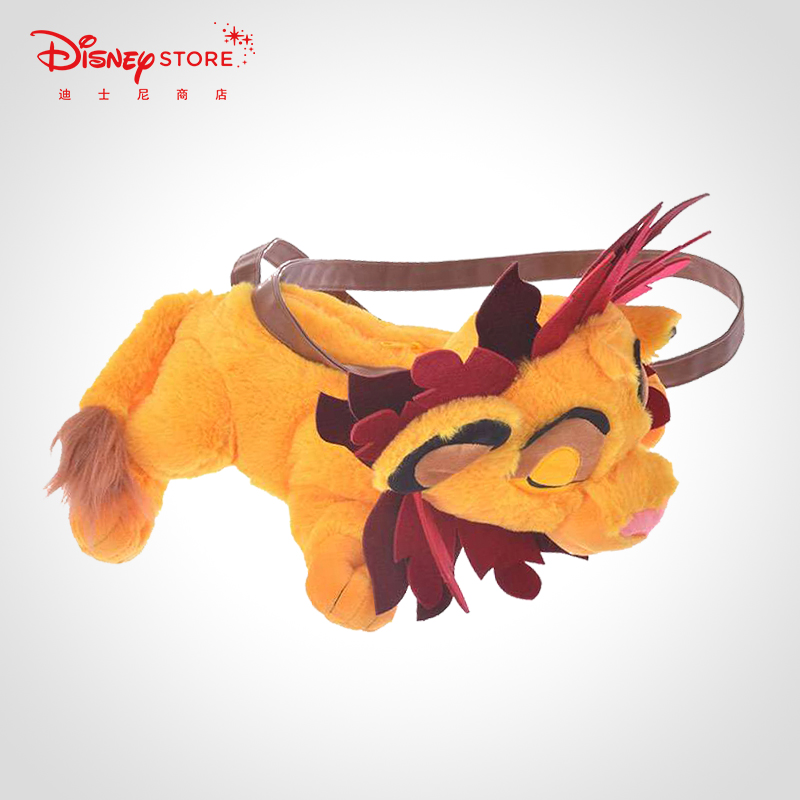 Disney мультфильм милая кукла Король Лев на одно плечо креативная кукла сумка мессенджер девушка уличная сумка фестиваль подарки