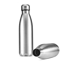 Stainless steel warm water Single-layer Coke bottle Single-layer stain