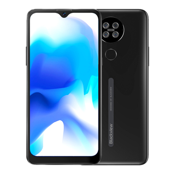 Blackview A80s Smartphone 6.217'' Screen Android 10 MT6762V/WD Octa Core 4GB RAM 64GB ROM Mobile Phone 4200mAh 4G Cellphone