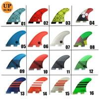 زعانف لركوب الأمواج FCS2 G7 زعانف ثلاثية الزعانف الألياف الزجاجية fcsii الزعانف الأزرق والأحمر والأصفر والأسود والبرتقال والأبيض والأخضر اللون FCS II تصفح الزعانف surf fins surfboard finsfcs ii -
