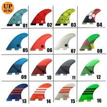 Surfboard Fin FCS2 G7 Fins tri fins Fiberglass fcsii Fins Blue,red, yellow,black,orange,white,green Color FCS II Surfing Fins
