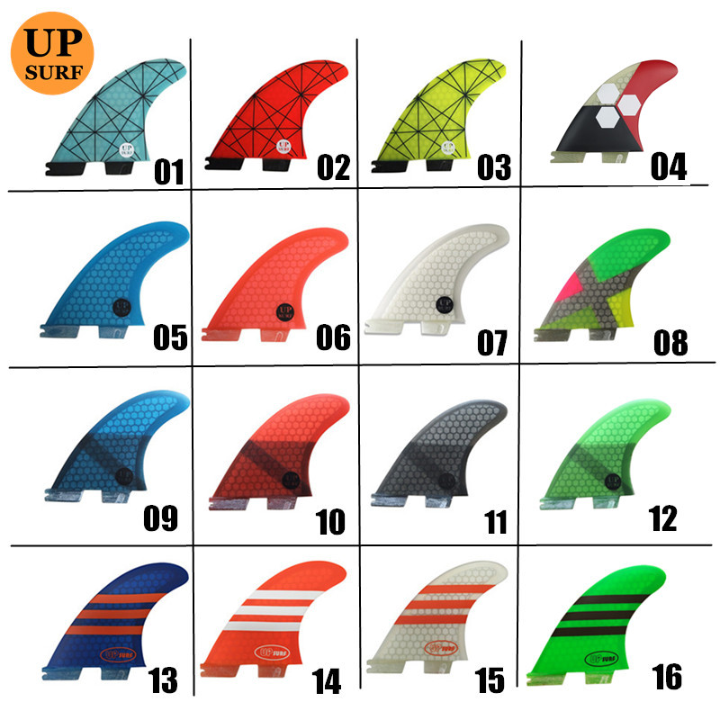 Surfboard Fin FCS2 G7 Fins Tri Fins Fiberglass Fcsii Fins Blue,red, Yellow,black,orange,white,green Color FCS II Surfing Fins
