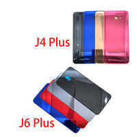 New Back Glass Rear Cover For Samsung Galaxy J4 J6 Plus J415 J610 J610F Battery Door Housing Battery back cover