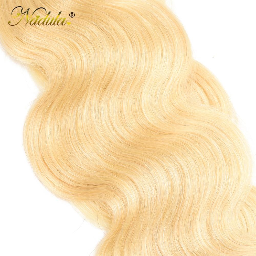 Nadula Body Wave Hair 613 Blonde Hair Wave Bundles    10-24inch Blonde Bundles 6