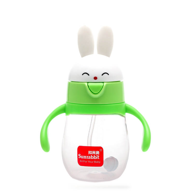 CHILDREN'S Cups Baby To Drink Glass Infant Sippy Cup Cup With Straw CHILDREN'S Kettle