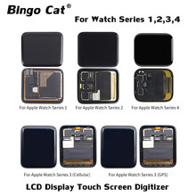 LCD Display Touch Screen Digitizer Assembly Reparatur Teil Für Apple uhr Serie 1 2 3 38mm 42mm 4 40mm 44mm Display(China)