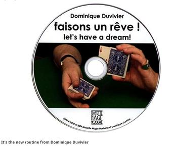 Dominique Duvivier- Collection, Let's Have a Dream / Dominique Duvivier Presents: Duvivier Wallet /magic tricks image