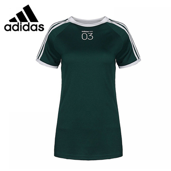 Original New Arrival  Adidas NEO W CS 3S Tee Women's  T-shirts short sleeve Sportswear 1
