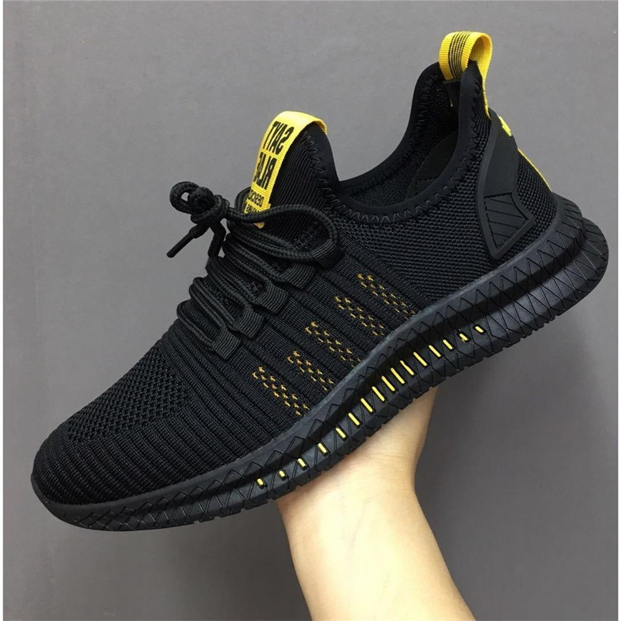 GOXPACER New Spring Summer Casual Shoes Men All Match Hot Trend Breathable Fashion Lacing Letter Mesh Comfortable Free Shipping