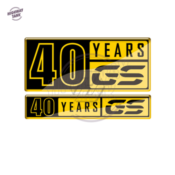 Motorcycle 40 Years GS Decals Case for BMW F700GS F800GS F850GS G310GS F650GS R1200GS R1250GS Decals image