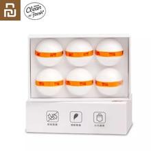 Desodorante Youpin para zapatos limpio y fresco, desodorizante, interruptor purificador de aire, bola, eliminador de zapatos para el hogar