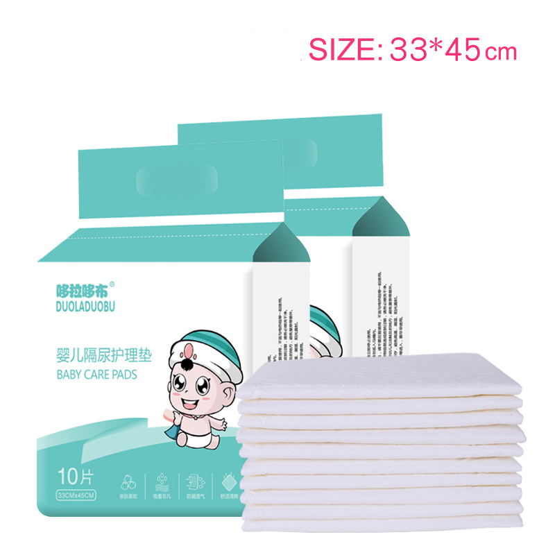 Baby Disposable Diaper Pad Baby Waterproof Nursing Pad Paper Pad Diaper Pad 10 Pcs Baby Products Changing Pad  33x45cm