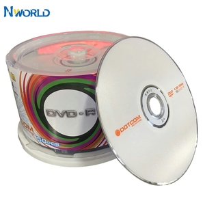 50/lot DVD Drives Blank DVD-R CD Disks 4.7GB 16X Bluray Recordable Media Compact Write Once Data Storage Empty DVD Discs Lotes