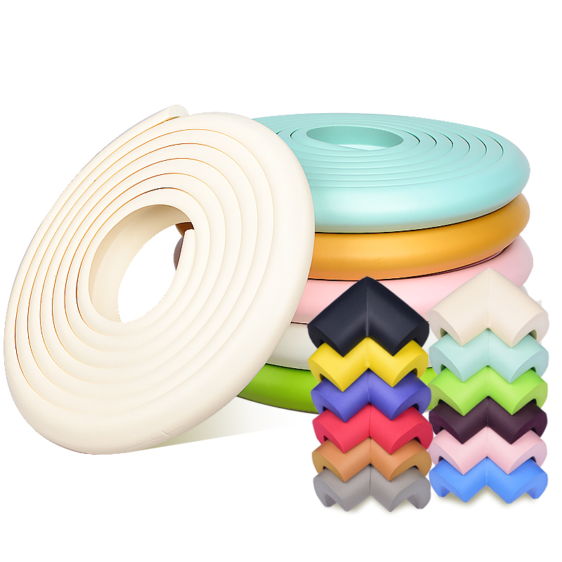 2M Child Safety Table Corner Protector Tape Baby Safety Corner Protector Children Protection Furniture Corners Angle Protection