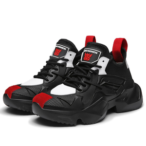Image 4 - JUNSRM zapatillas deportivas de talla grande para hombre, zapatos informales, 38 a 45, 2019