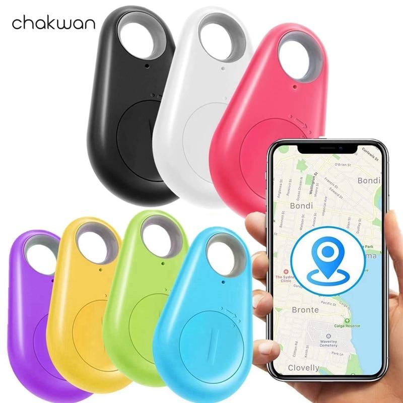 Умный GPS-трекер, локатор для ключей, устройство с датчиком защиты от потери, с Bluetooth, для детей, кошельков, мотоциклов, чемоданов
