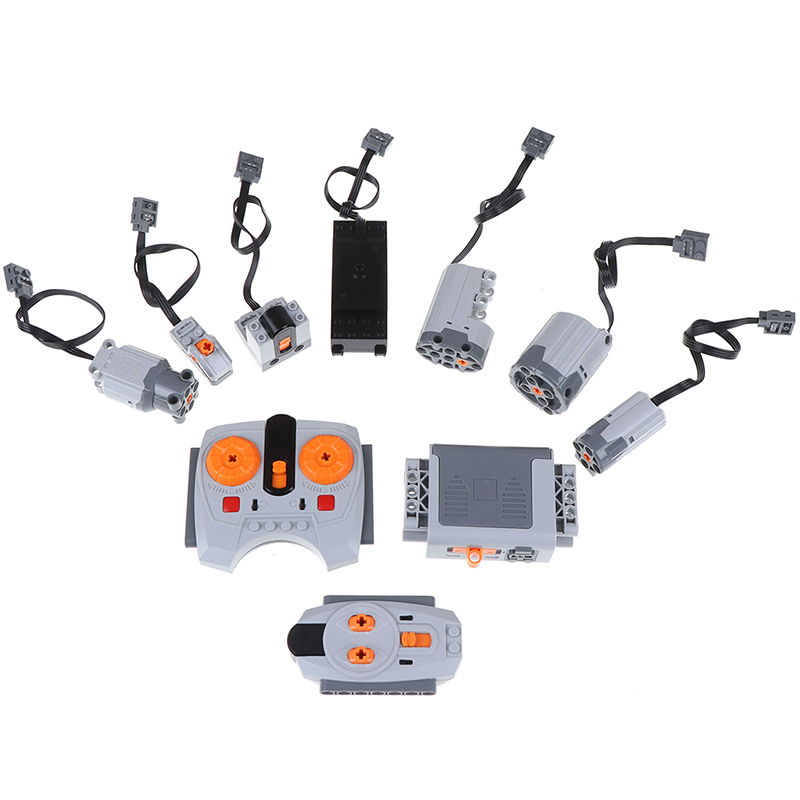 Technic Parts Compatible For Legoeds Multi Power Functions Tool Servo Blocks Train Electric Engine Motor PF Model Sets Building