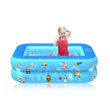 Детский надувной бассейн Летняя Вечеринка семейный водный игровой