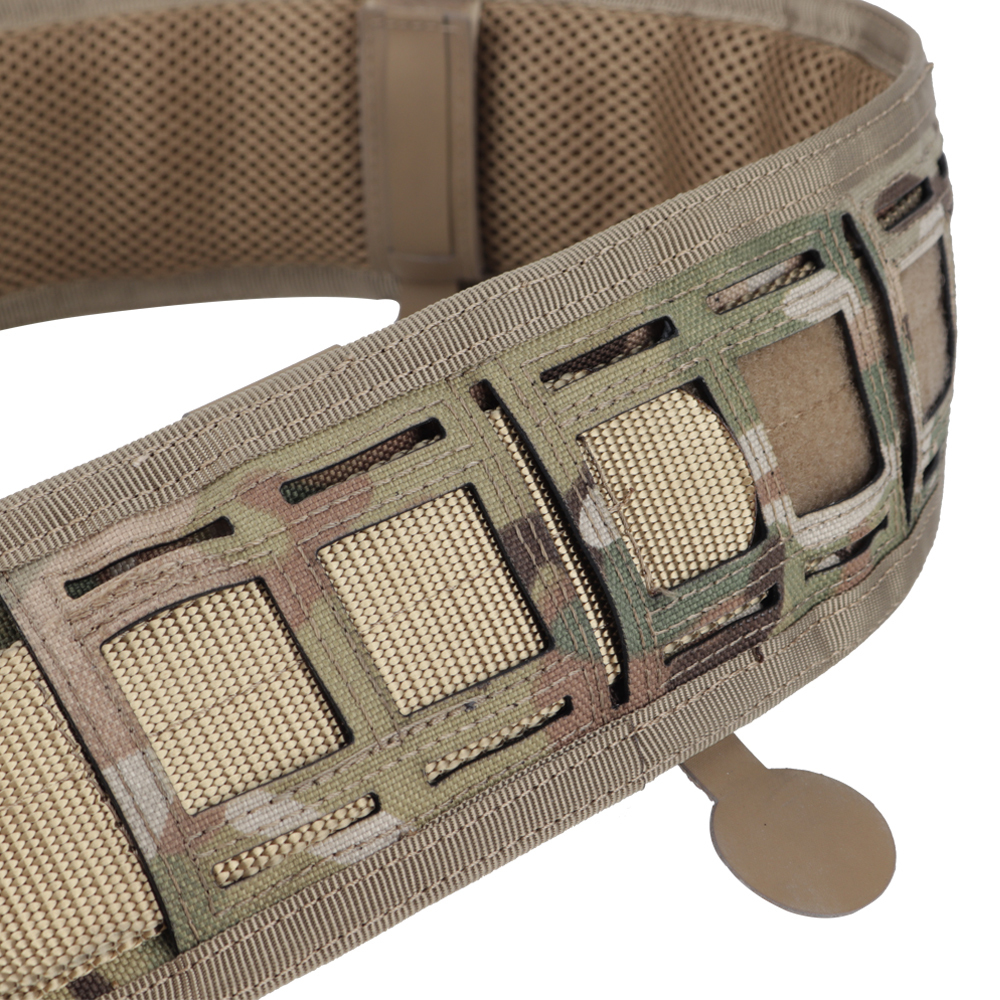 Wosport 1000d Tactical Men 39 s Belt Nylon Seat Adjustable Training Belt Airsoft Military Hunt New Wide Belts 2019 NEW in Waist Support from Sports amp Entertainment