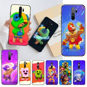 NBDRUICAI Cute Case Gbrawl Stars DIY Printing Phone Case cover Shell for Redmi Note 8 8A 8T 7 6 6A 5 5A 4 4X 4A Go Pro(China)