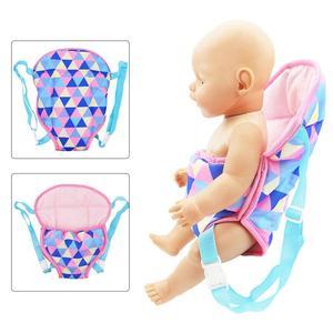 18IN Baby Kids Reborn кукла-переноска, рюкзак, игрушка, Реалистичная детская игрушка для новорожденных с передней и задней переноской с ремнями для детей, подарок