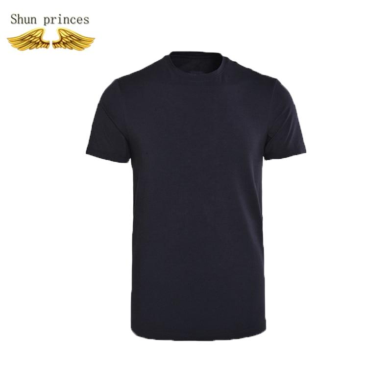 Pure Cotton T-shirt Men Leisure Movement O-neck Pure Color T Shirt Breathable Costume T Shirt   Cotton Short Sleeves Welfare New