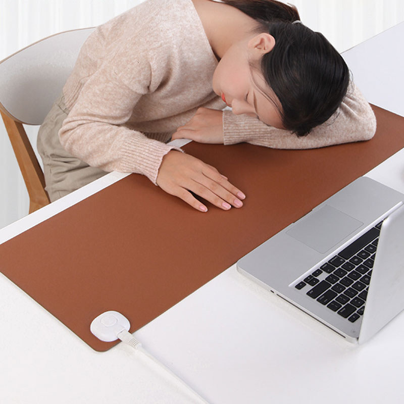 Electric Heating Pad Winter Warmer Waterproof Heater Foot Mat for Kids Gift Desk Office Table Computer Keyboard Heated Mouse Pad image