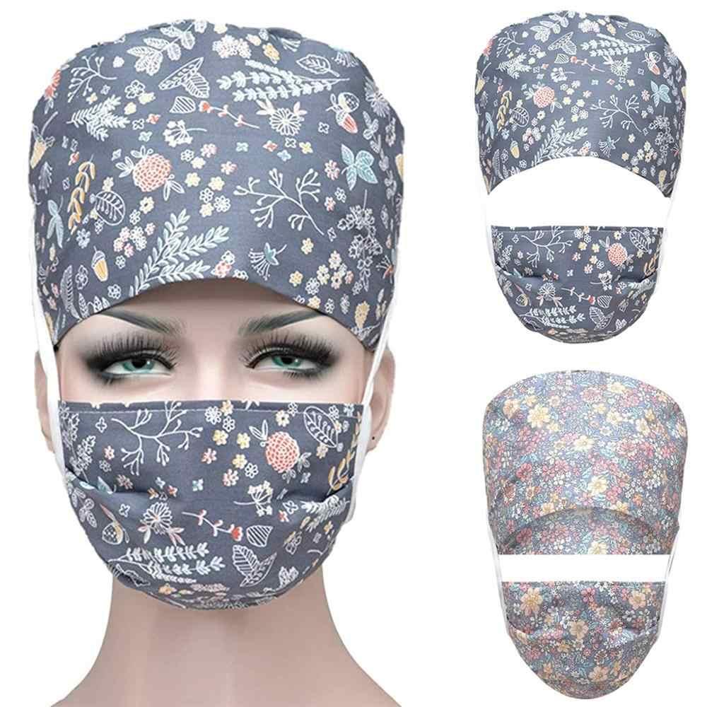 Scrub Bouffant Cap /& Mask